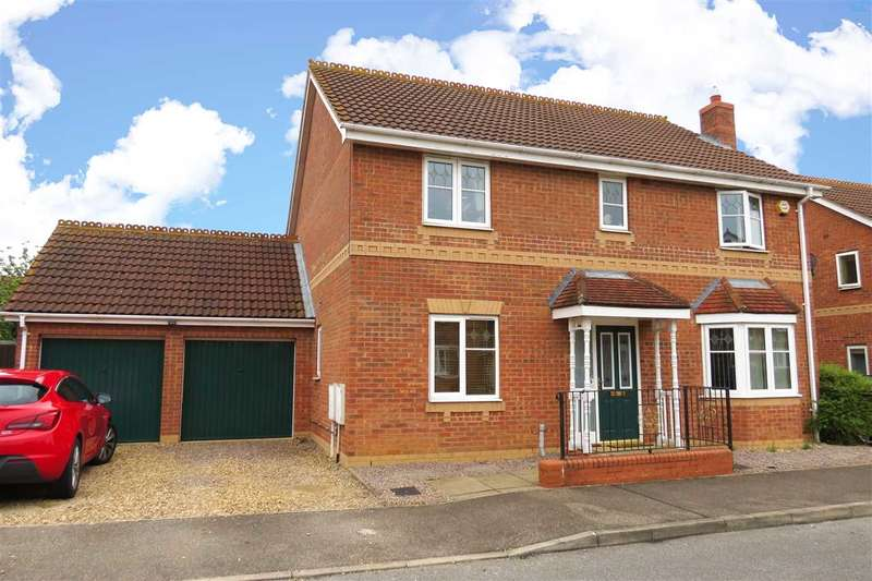 4 Bedrooms Detached House for sale in Chapman Road, Sleaford