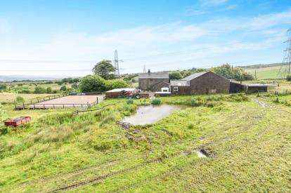 4 Bedrooms Detached House for sale in Rossendale Avenue, Burnley, Lancashire, Lower Micklehurst Farm, BB11