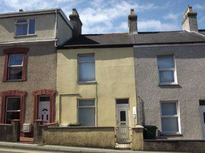 2 Bedrooms Terraced House for sale in Tithebarn Street, Caernarfon, Gwynedd, LL55