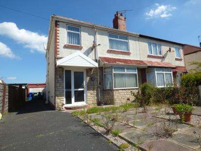 3 Bedrooms Semi Detached House for sale in Leicester Avenue, Thornton-Cleveleys, Lancashire, FY5