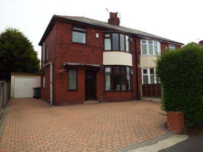 3 Bedrooms Semi Detached House for sale in Queensway, Ashton-On-Ribble, Preston, Lancashire, PR2