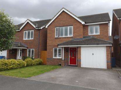 4 Bedrooms Detached House for sale in Snowberry Crescent, Warrington, Cheshire, WA5