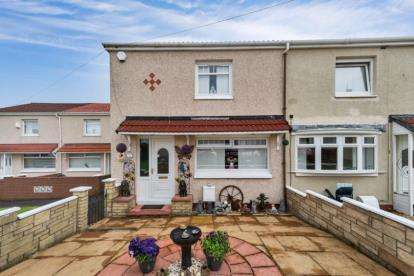 2 Bedrooms Semi Detached House for sale in Woodburn Terrace, Larkhall