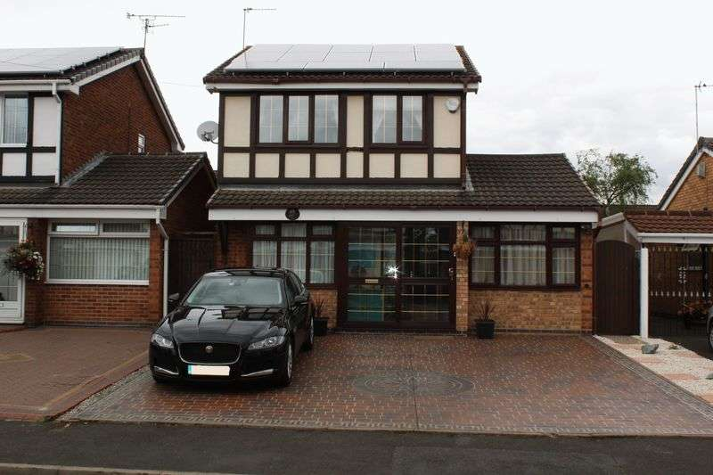 4 Bedrooms Detached House for sale in Brookfield Way, Tipton
