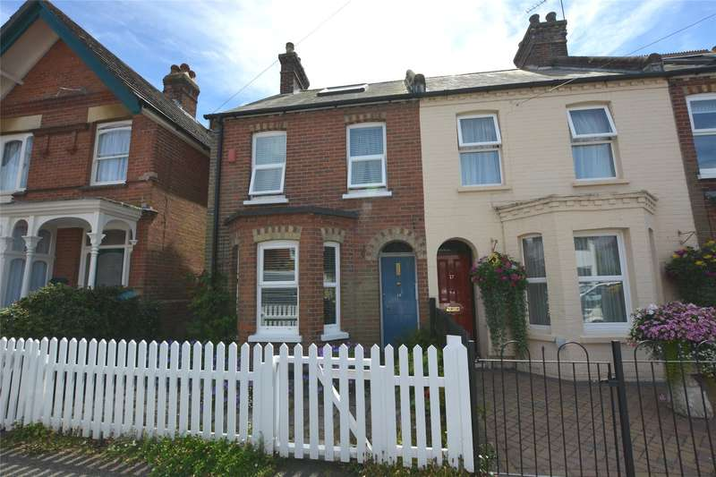 2 Bedrooms End Of Terrace House for sale in Middle Road, Lymington, Hampshire, SO41