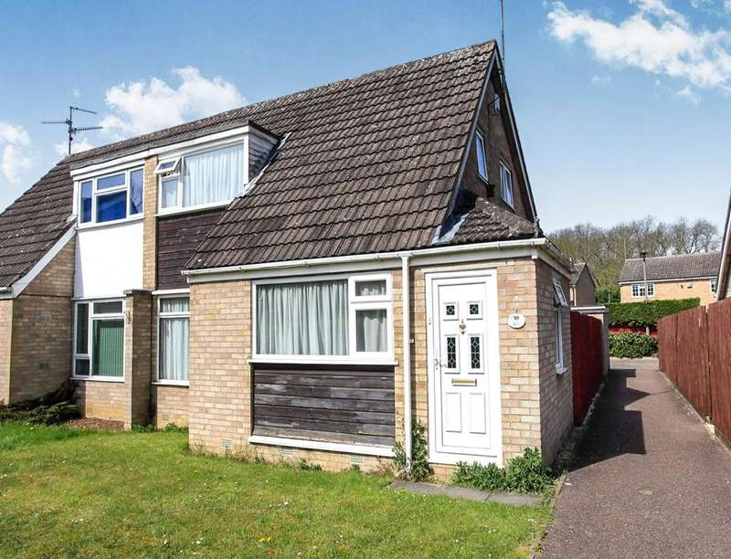 4 Bedrooms Semi Detached House for sale in Dunsberry, Bretton, PETERBOROUGH, PE3