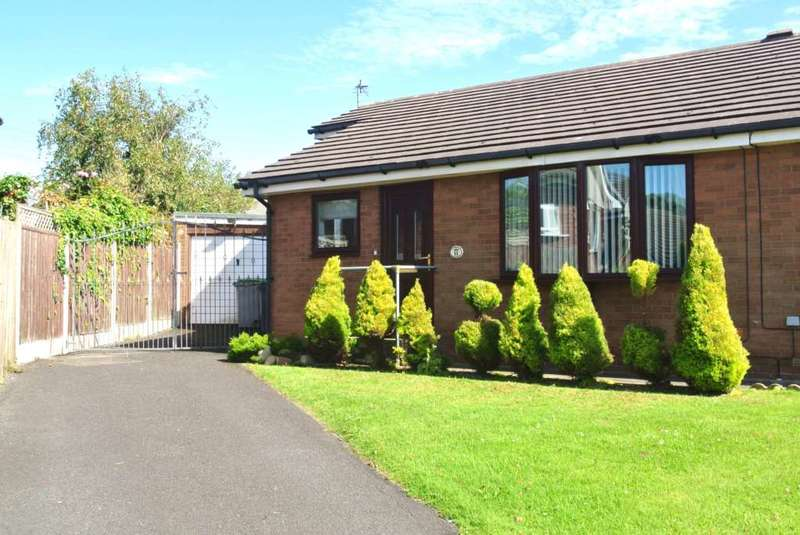 3 Bedrooms Semi Detached Bungalow for sale in Nairn Close, Blackpool, FY4 5DB