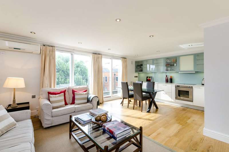2 Bedrooms Flat for sale in Nevern Square, Earls Court, SW5