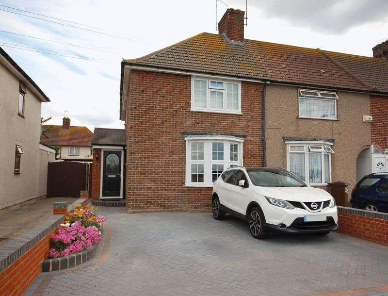 3 Bedrooms Semi Detached House for sale in Ivy Walk, Dagenham