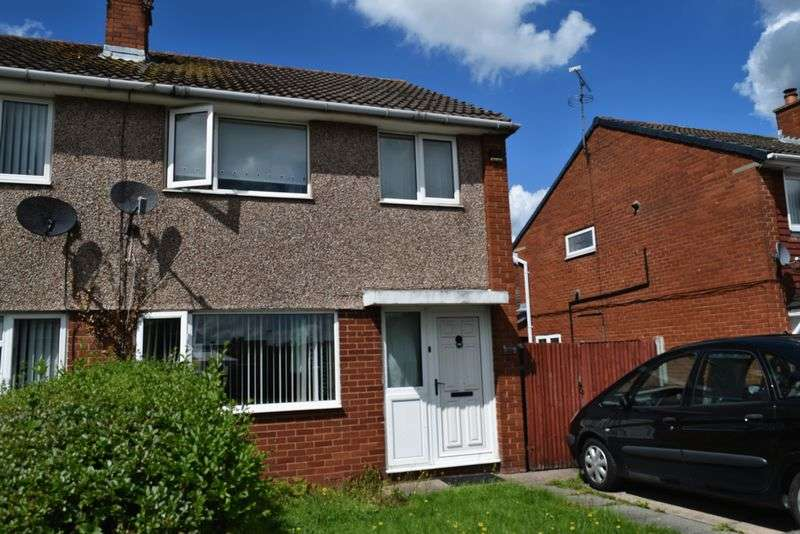 3 Bedrooms Semi Detached House for sale in Saxon Way, Chester