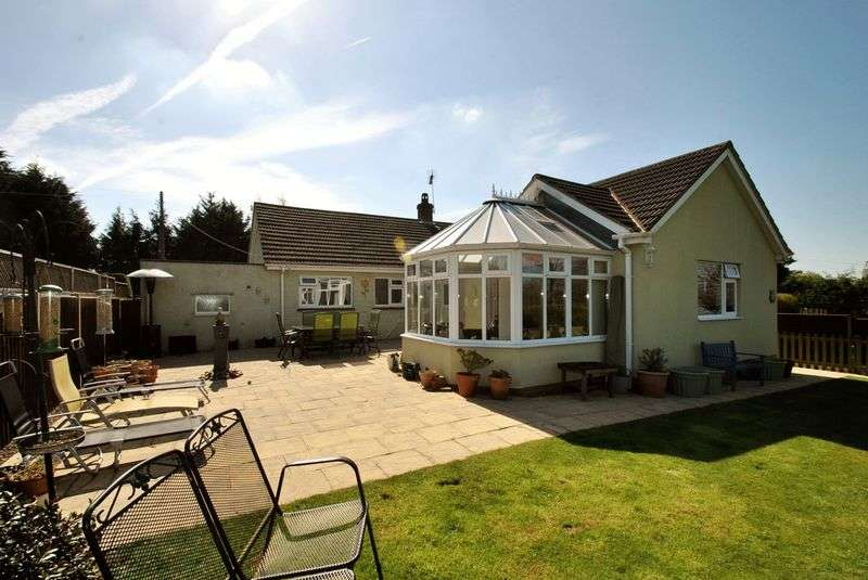 3 Bedrooms Detached Bungalow for sale in Mile End, Nr. Coleford, Gloucestershire