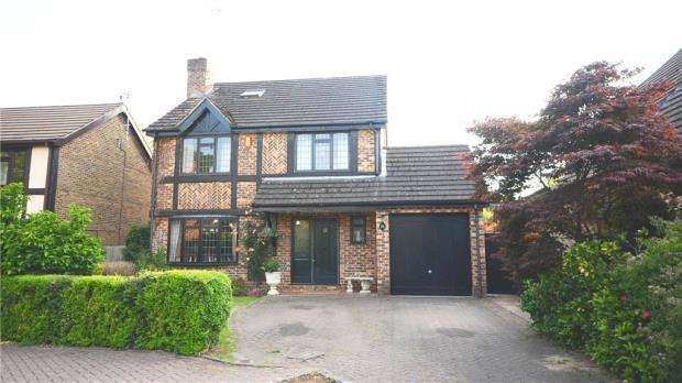 5 Bedrooms Detached House for sale in 23 Kerris Way, Earley, Reading, RG6 5UW