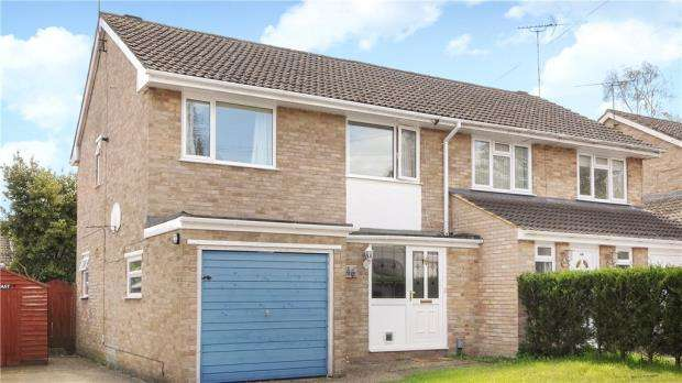 3 Bedrooms Semi Detached House for sale in Whitley Road, Yateley, Hampshire