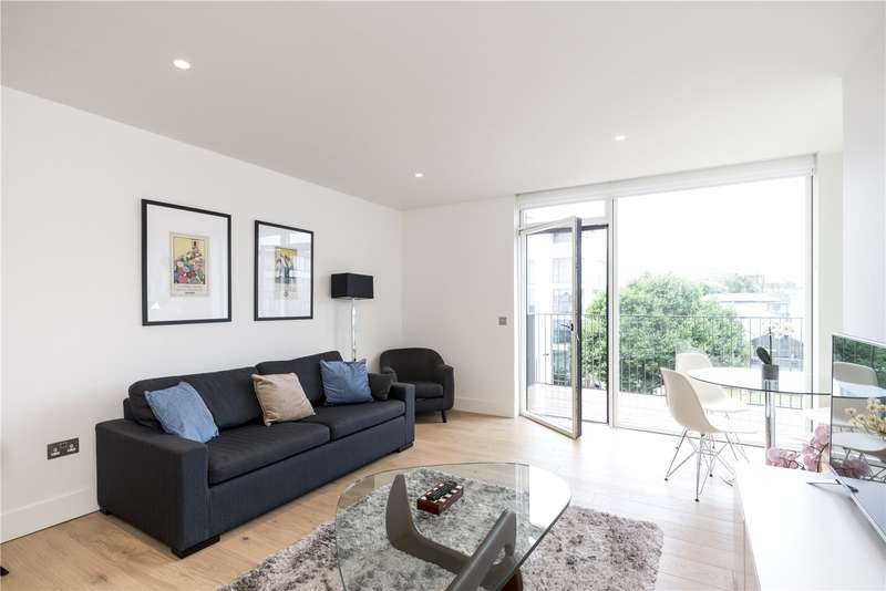 1 Bedroom Flat for sale in Nautilus House, 14 West Row, London, W10