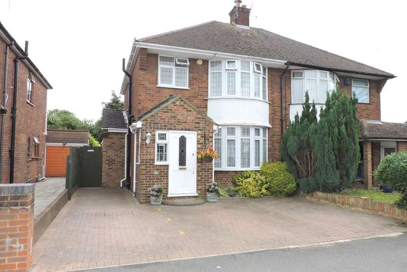 3 Bedrooms Semi Detached House for sale in Nunnery Lane, Luton, Bedfordshire, LU3 1XB