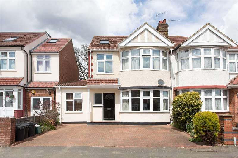 4 Bedrooms Semi Detached House for sale in Burlington Road, Isleworth, TW7