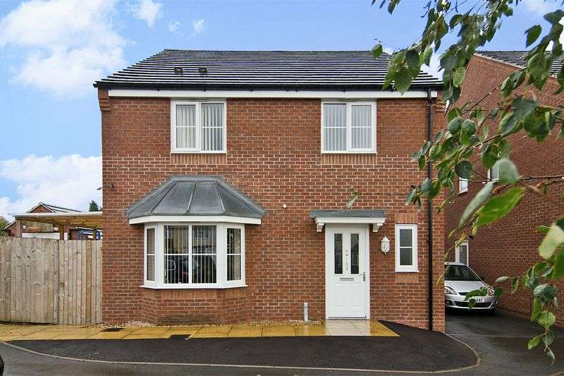 4 Bedrooms Detached House for sale in Barns Lane, Rushall, Walsall
