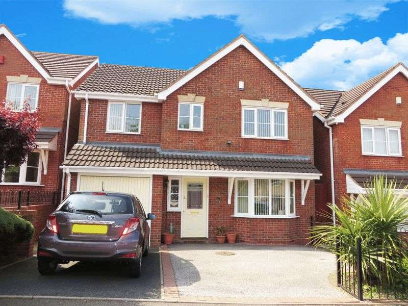4 Bedrooms Detached House for sale in Highbury Road, Oldbury