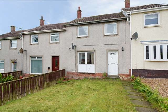 2 Bedrooms Terraced House for sale in Hodge Court, Tarbolton, Mauchline, East Ayrshire, KA5 5SB