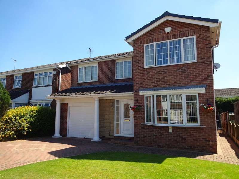 5 Bedrooms Detached House for sale in Scaftworth Close, Bessacarr
