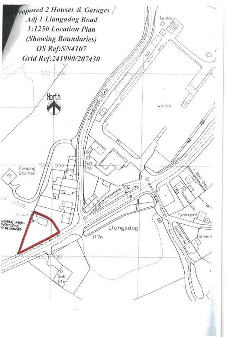 Property for sale in Llangadog Road, Kidwelly, Mynyddygarreg