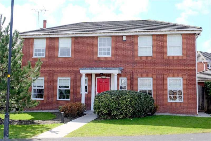 4 Bedrooms Detached House for sale in Blacksmiths Row, Cypress Point, Lytham