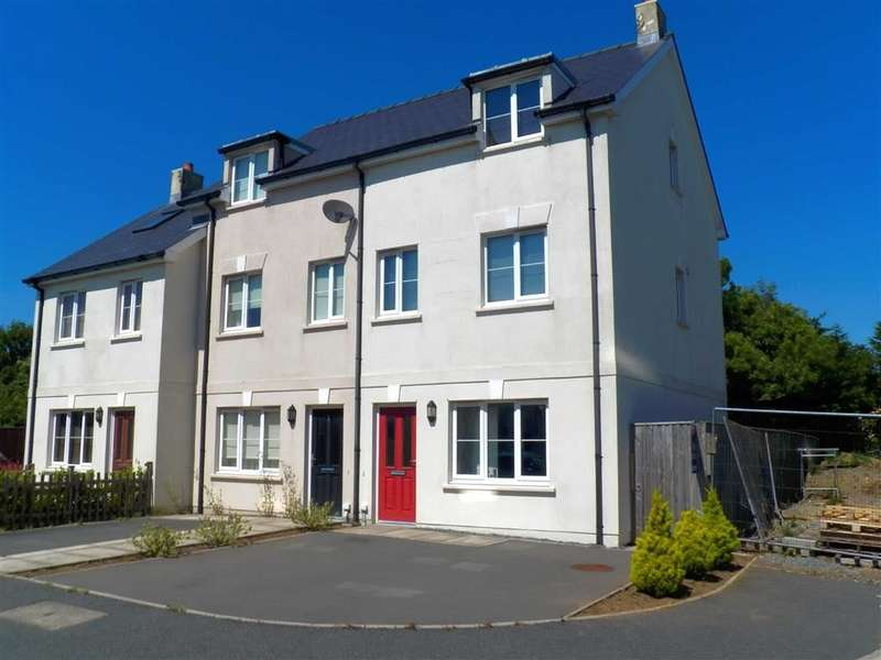 3 Bedrooms End Of Terrace House for sale in Victoria Gardens, Johnston, Haverfordwest