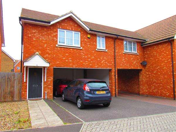 2 Bedrooms Mews House for sale in Juno Way, Wainscott, Rochester