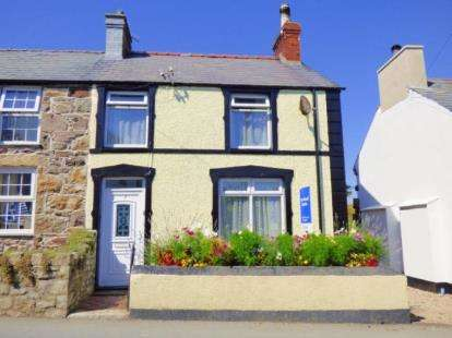 3 Bedrooms End Of Terrace House for sale in Madryn Terrace, Llanbedrog, Gwynedd, LL53