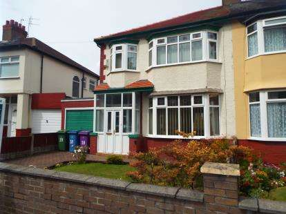 3 Bedrooms Semi Detached House for sale in West Oakhill Park, Old Swan, Liverpool, Merseyside, L13