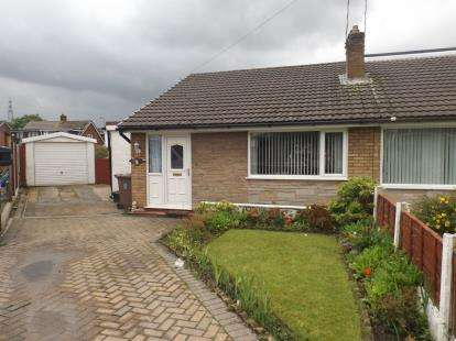 2 Bedrooms Bungalow for sale in Westleigh Place, Sutton Leach, St. Helens, Merseyside, WA9