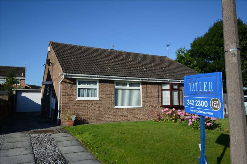 2 Bedrooms Semi Detached Bungalow for sale in Heathbank Avenue, Irby, Wirral