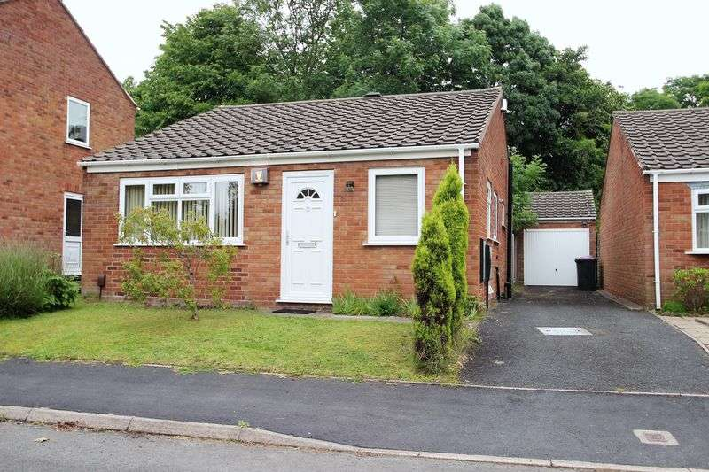 2 Bedrooms Detached Bungalow for sale in Deuxhill Close, Telford