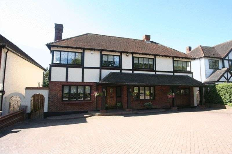 4 Bedrooms Detached House for sale in Vicarage Lane, Chigwell