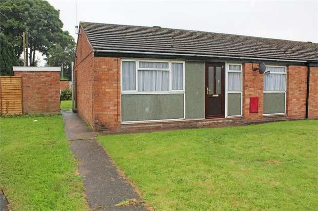 2 Bedrooms Semi Detached Bungalow for sale in Rowan Road, Market Drayton, Shropshire