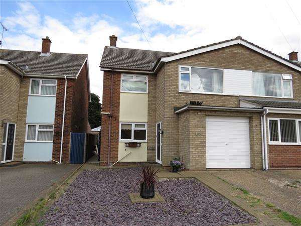 3 Bedrooms Semi Detached House for sale in Fircroft Road, Ipswich
