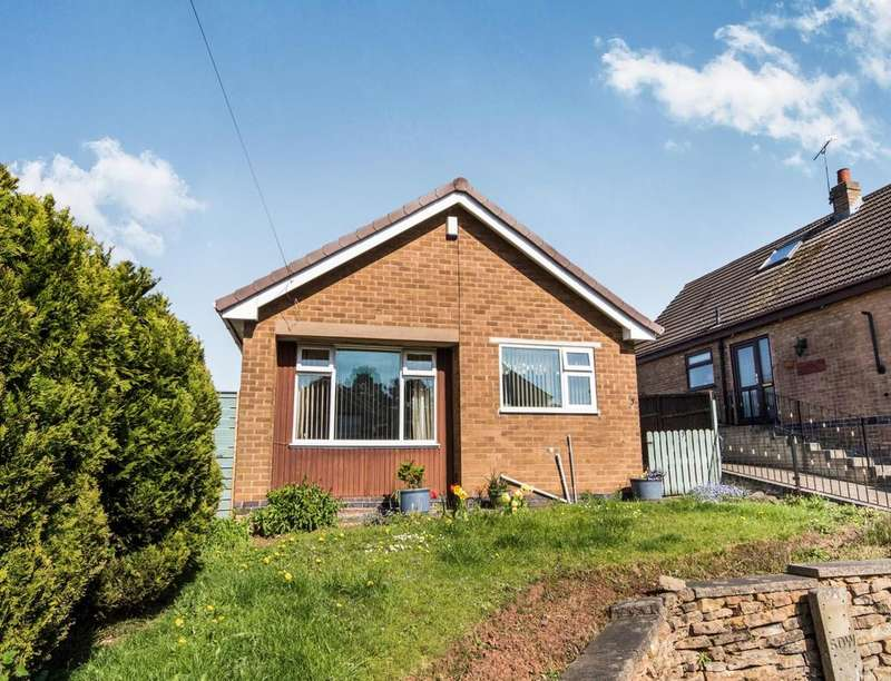 2 Bedrooms Detached Bungalow for sale in Broomfield Close, Sandiacre, Nottingham, NG10