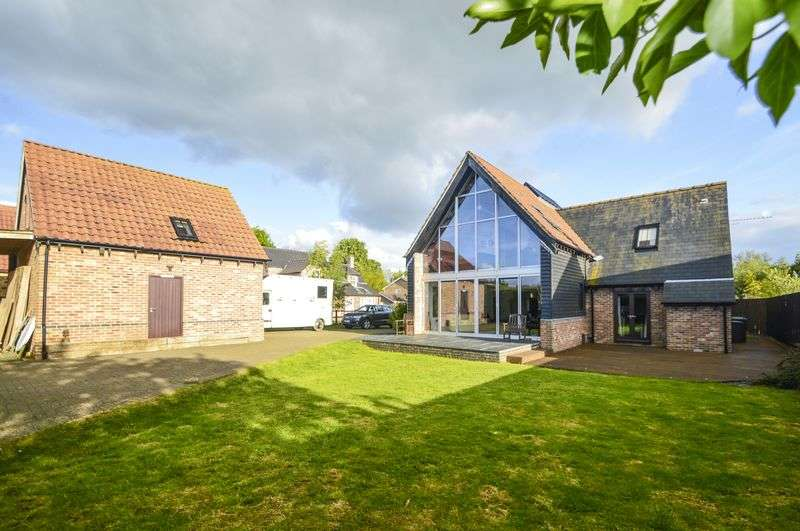 4 Bedrooms Detached House for sale in Church Farm Close, Wentworth, Ely, CB6 3QL EQUESTRIAN PROPERTY