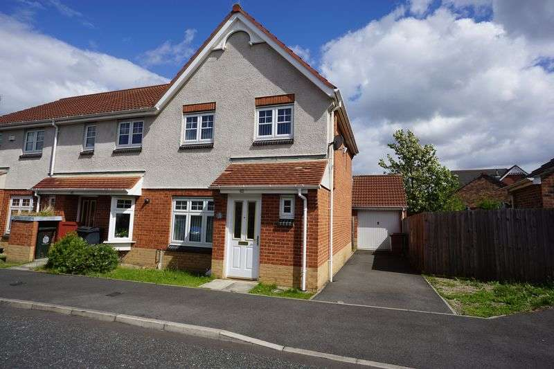 3 Bedrooms Terraced House for sale in HOUSESTEADS GARDENS, LONGBENTON