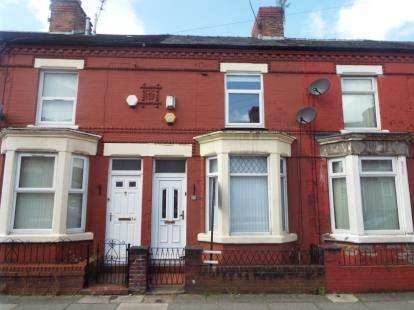 2 Bedrooms Terraced House for sale in Gidlow Road, Old Swan, Liverpool, England, L13