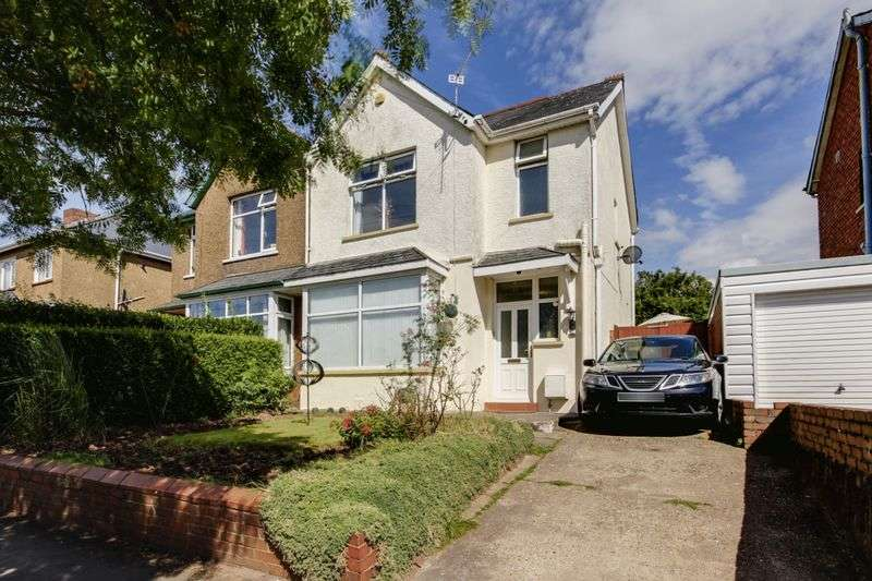 3 Bedrooms Semi Detached House for sale in Cornwall Road, Newport