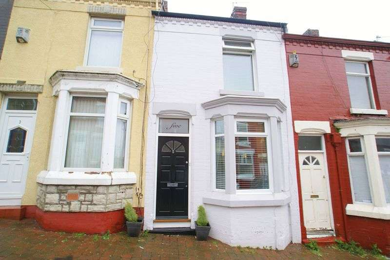 2 Bedrooms Terraced House for sale in Charlecote Street, Toxteth