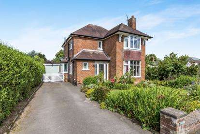 3 Bedrooms Detached House for sale in Hornby Drive, Nantwich, Cheshire