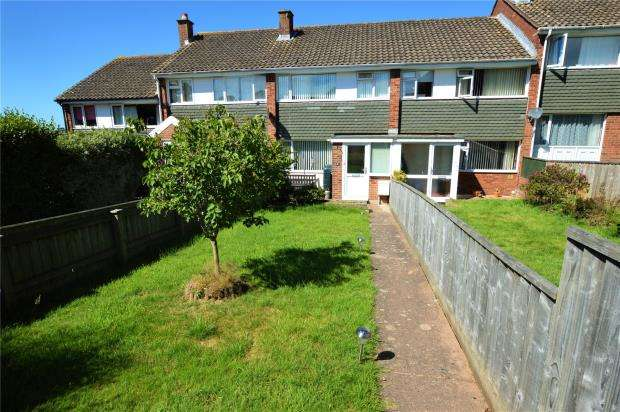 3 Bedrooms Terraced House for sale in Birchwood Road, Exmouth, Devon