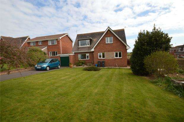3 Bedrooms Detached House for sale in Buckingham Close, Exmouth, Devon