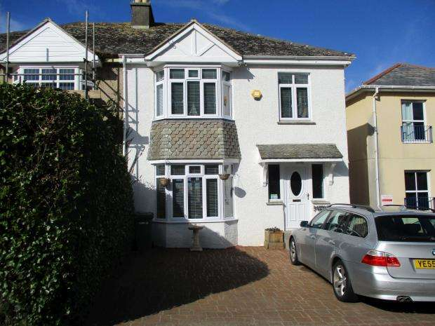 4 Bedrooms Semi Detached House for sale in Longstone Hill, Carbis Bay, St Ives, Cornwall