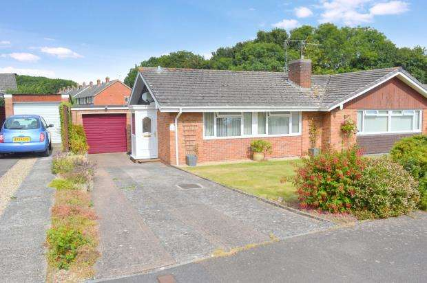 2 Bedrooms Semi Detached Bungalow for sale in Blackbrook Road, Taunton, Somerset
