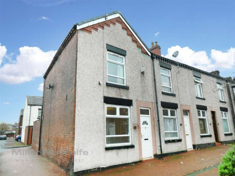 2 Bedrooms End Of Terrace House for sale in Clyde Street, Halliwell, Bolton, Lancashire