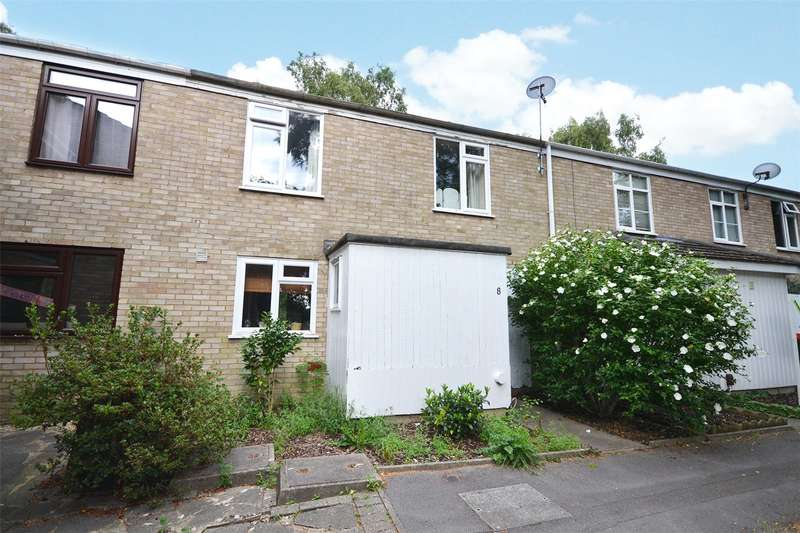 3 Bedrooms Terraced House for sale in Cottesmore, Bracknell, Berkshire, RG12