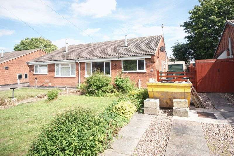 2 Bedrooms Semi Detached House for sale in HOLDERNESS CLOSE, STENSON FIELDS.